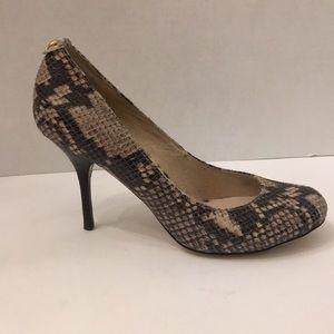 Michael Kors Snake Print Heels